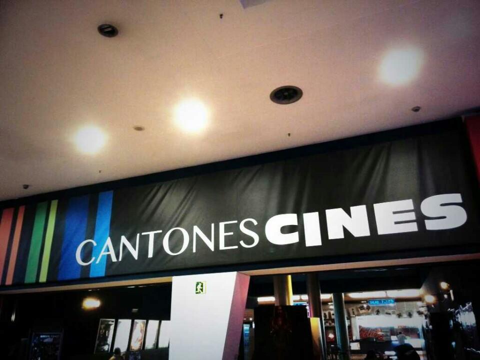 cines los cantones