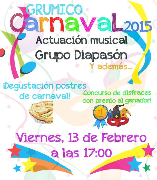 Carnaval 2015 en GRUMICO