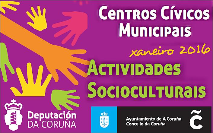 cartel actividades socioculturales