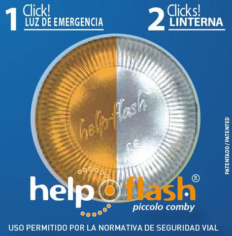 Help Flash luz emergencia