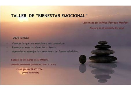 Taller bienestar emocional