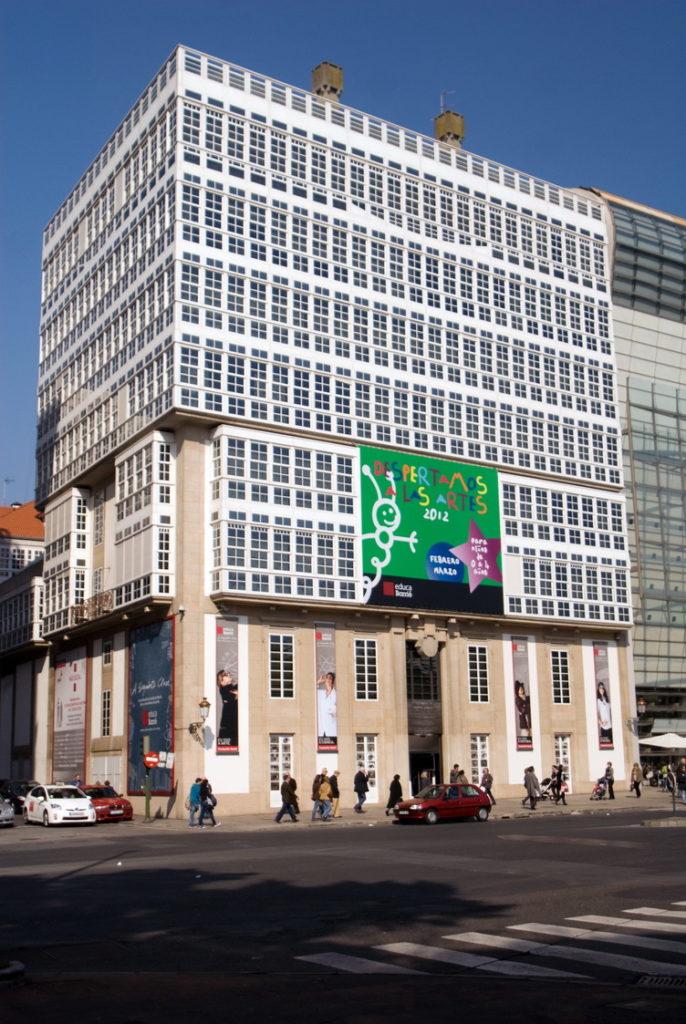Sede Fundación Barrié A Coruña Cantón Grande