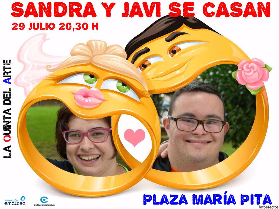 SANDRA Y JAVI SE CASAN_LOGO